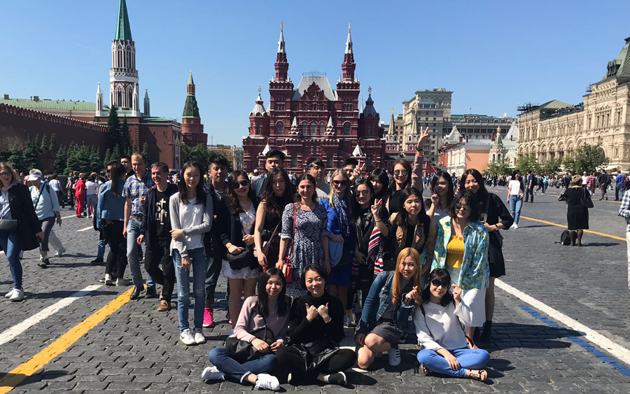 MIRBIS Institute arranged internships for 18 Hong Kong Polytechnic University students in Russian companies