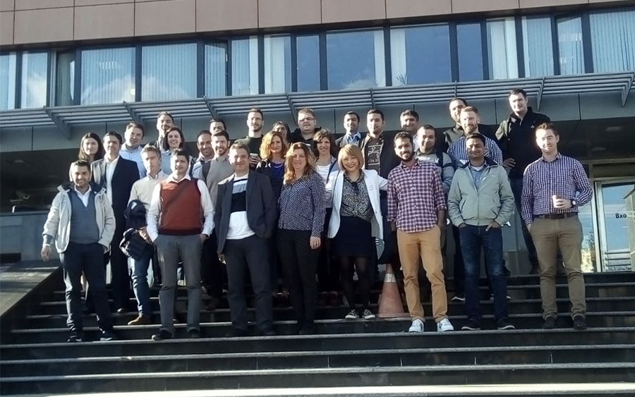 Executive MBA Consortium students at Russia 4.0 Week at MIRBIS