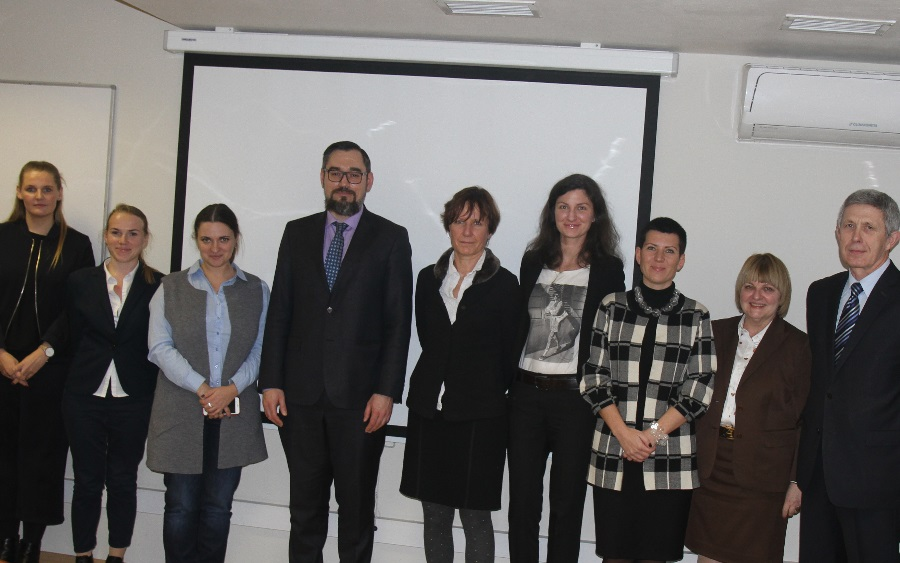 The Rector of MIRBIS Institute discussed with German colleagues cooperation in educational wide scope projects