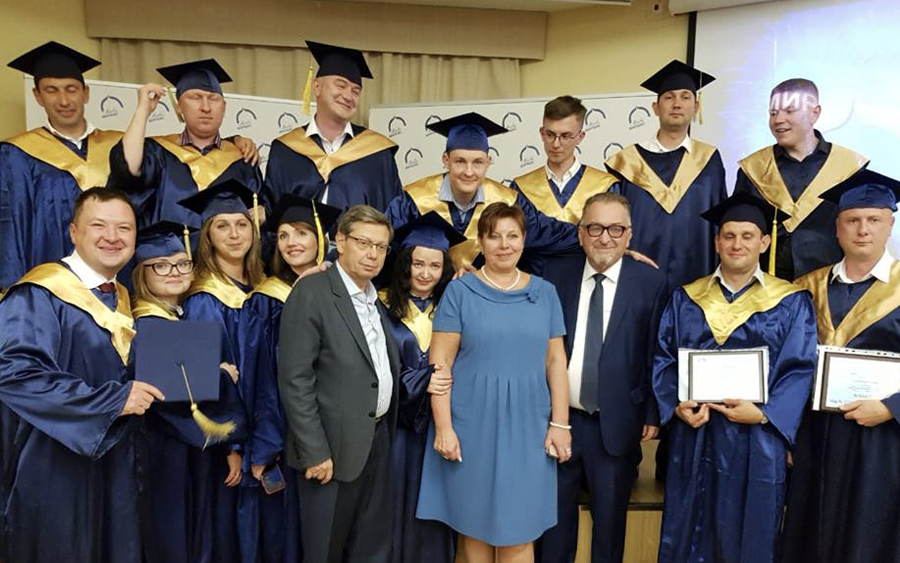 Solemn diploma award ceremony for MBA and Executive MBA graduates took place at MIRBIS on September 21, 2018